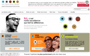 site les opticiens libres