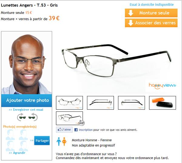 essayage lunette en ligne ray ban